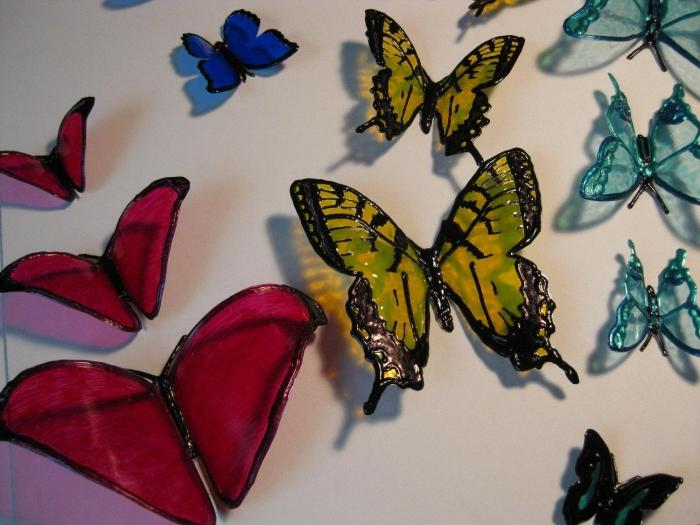 Поделок из пластиковых бутылок бабочки