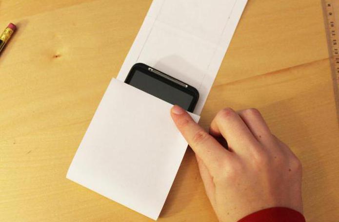 Как сделать чехол для телефона из бумаги без чехла