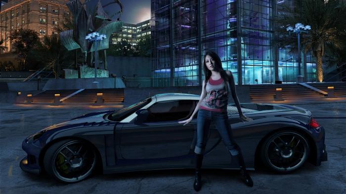 автомобили и девушки фото