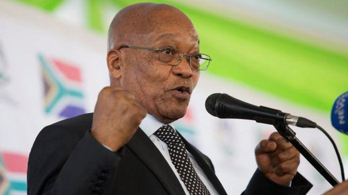как зовут президента африки