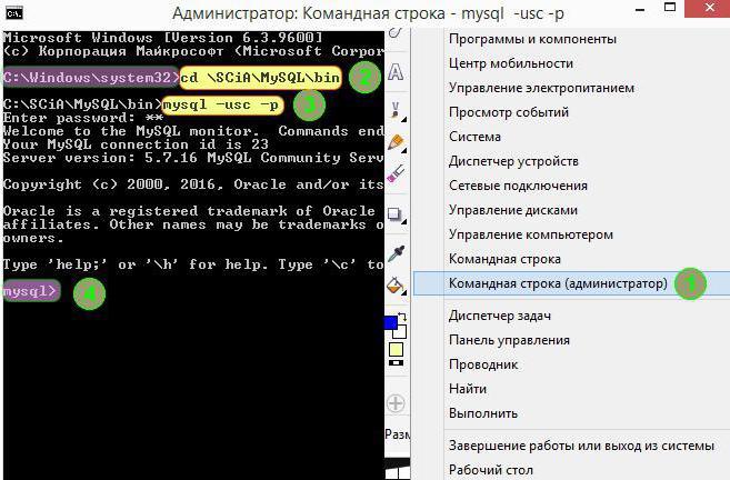 mysql создать пользователя со всеми правами