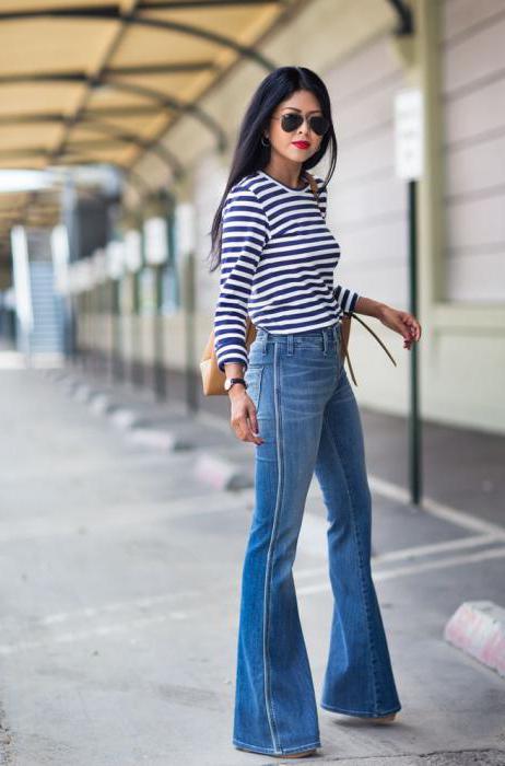 джинсы расклешенные мужские