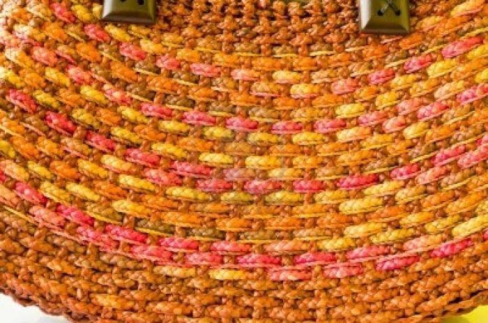 плетеные женские сумки