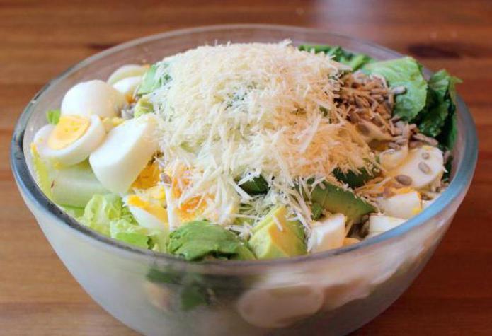 классический сырный салат рецепт с фото