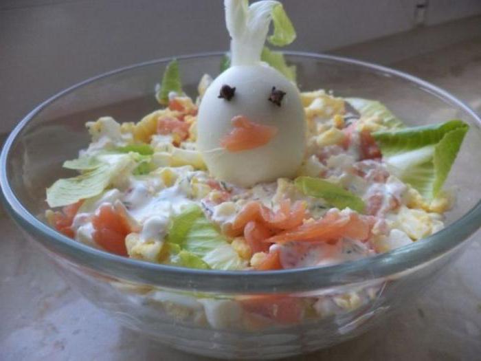 классический сырный салат