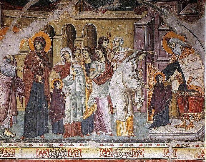 введение во храм пресвятой богородицы икона значение