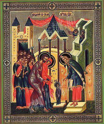покажите икону введение во храм пресвятой богородицы