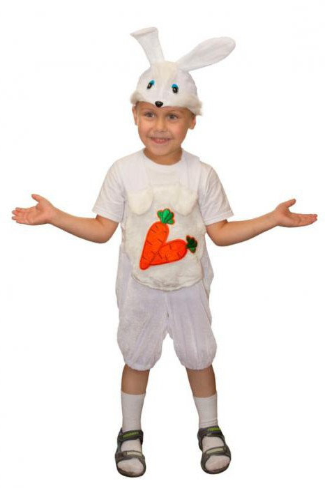 костюм кролика детский