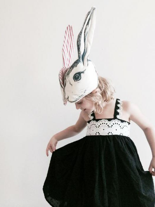 костюм белого кролика