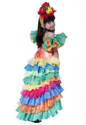 Бразильский карнавальный костюм