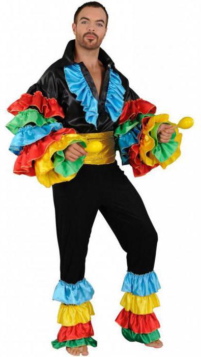 Бразильский костюм фото