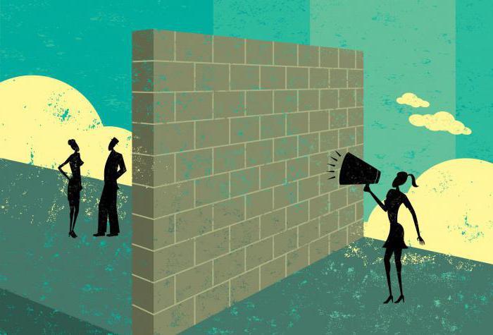 выделяют следующие виды межличностных коммуникативных барьеров