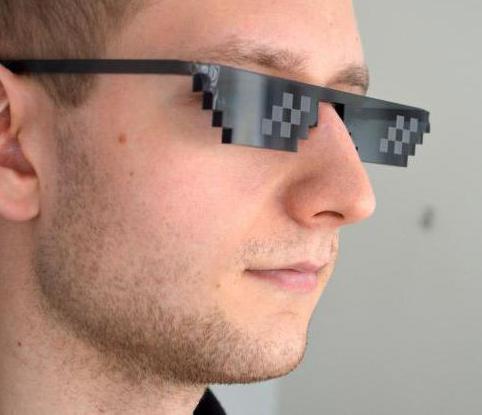 очки deal with it для фотошопа