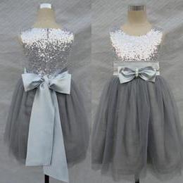 серебристое платье для девочки