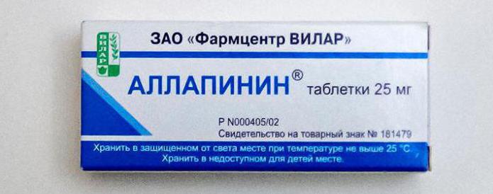 инструкция по применению аллапинина