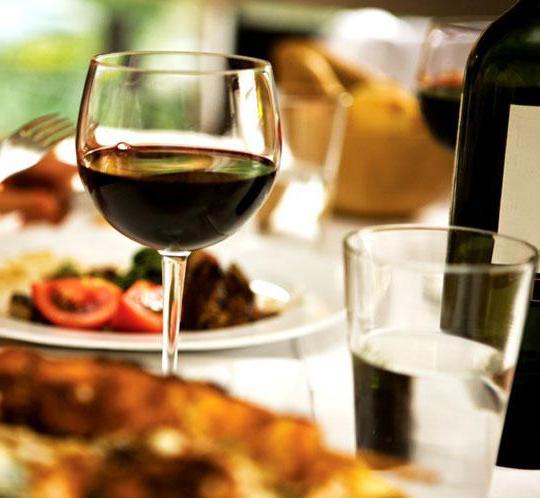 Столовое вино: сколько градусов