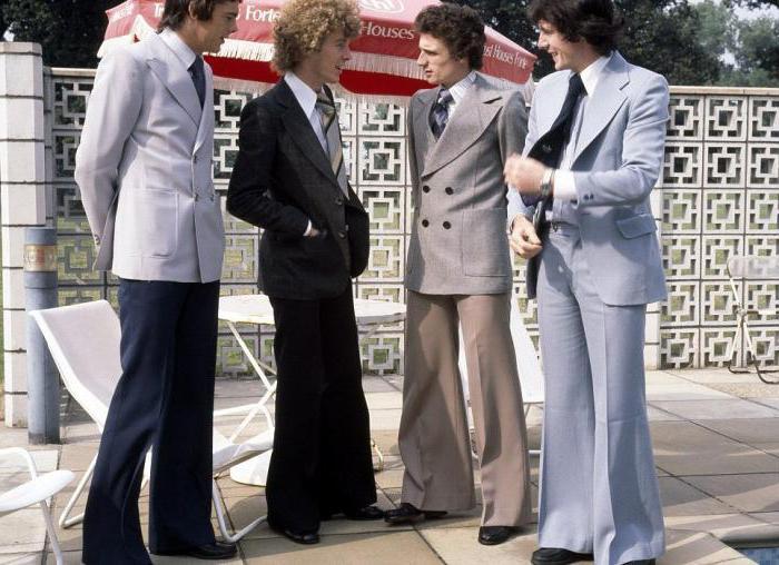 Мужские брюки клеш 70 годов