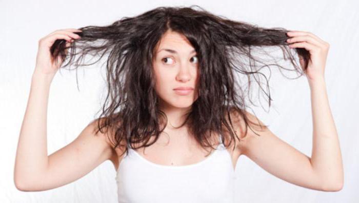 секущиеся волосы не растут
