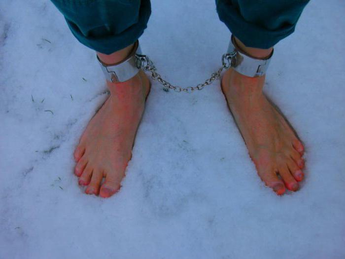 снится босиком по снегу