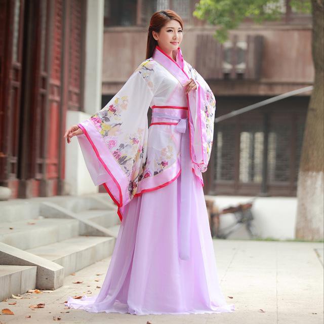 платье в японском и китайском стиле
