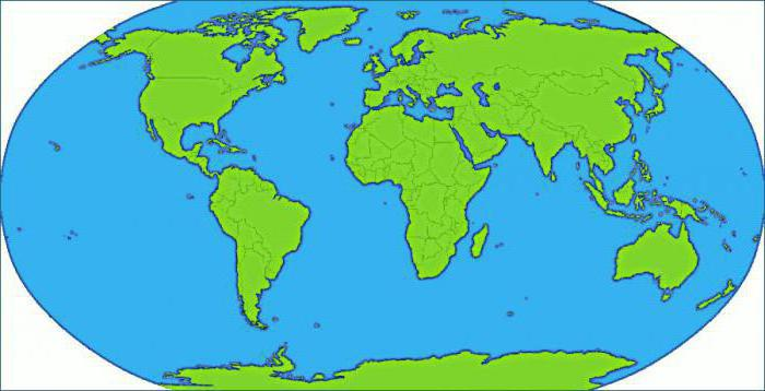Чем отличается понятие материк и часть света