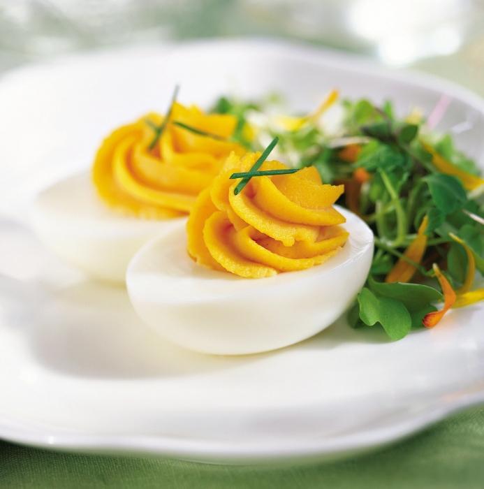 Калорийность яйца вареного