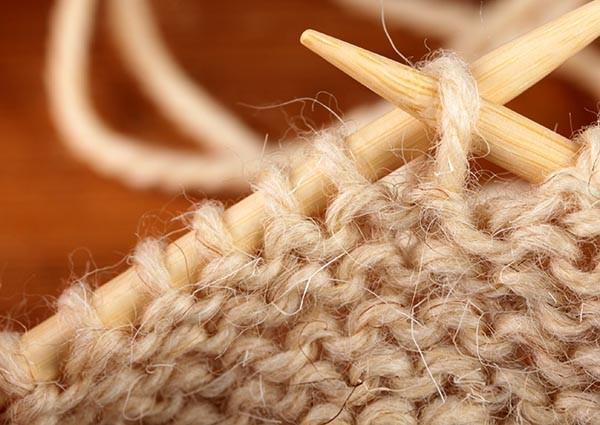 Вязание изнаночного ряда