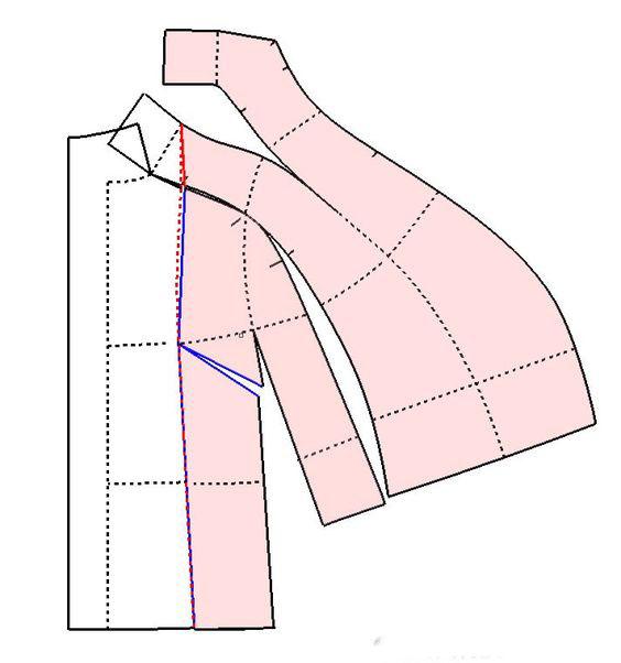 выкройка пальто с рукавом реглан бурда