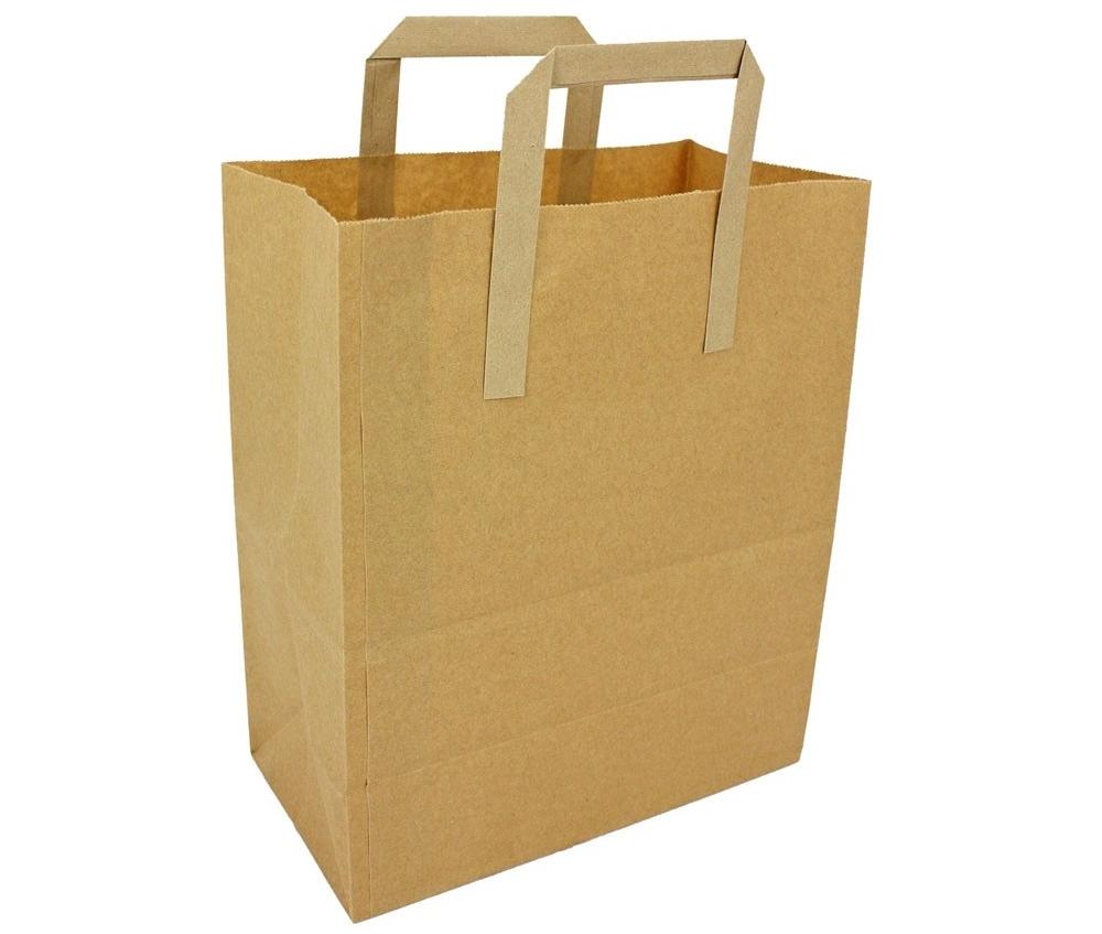 Пакет из крафт-бумаги