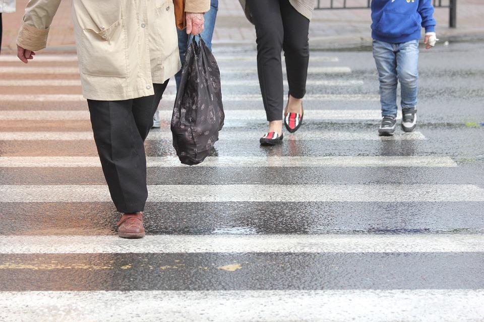 причины ДТП с участием пешеходов