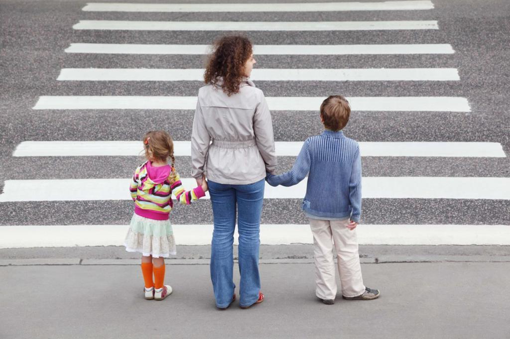 ДТП с участием пешехода на пешеходном переходе