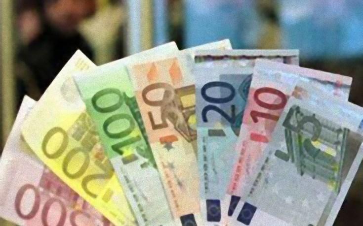 веер из евро