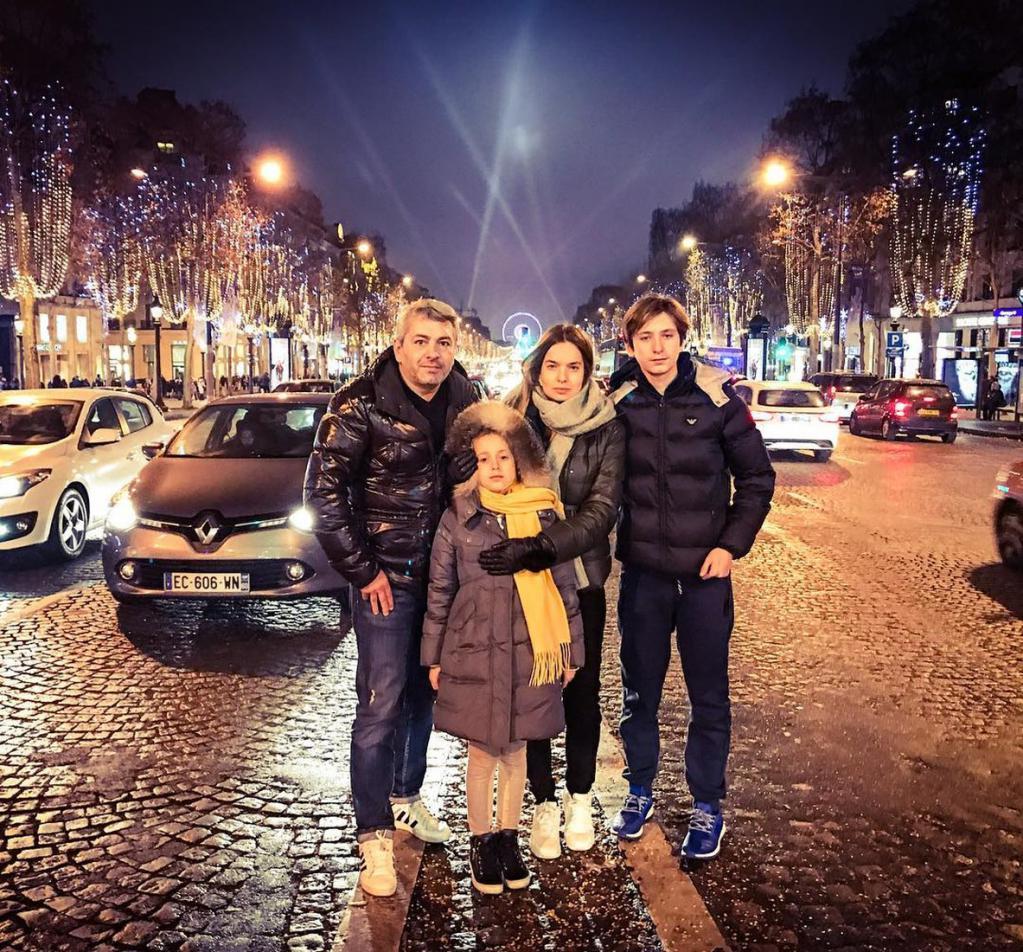 Евгений Финкельштейн и его семья