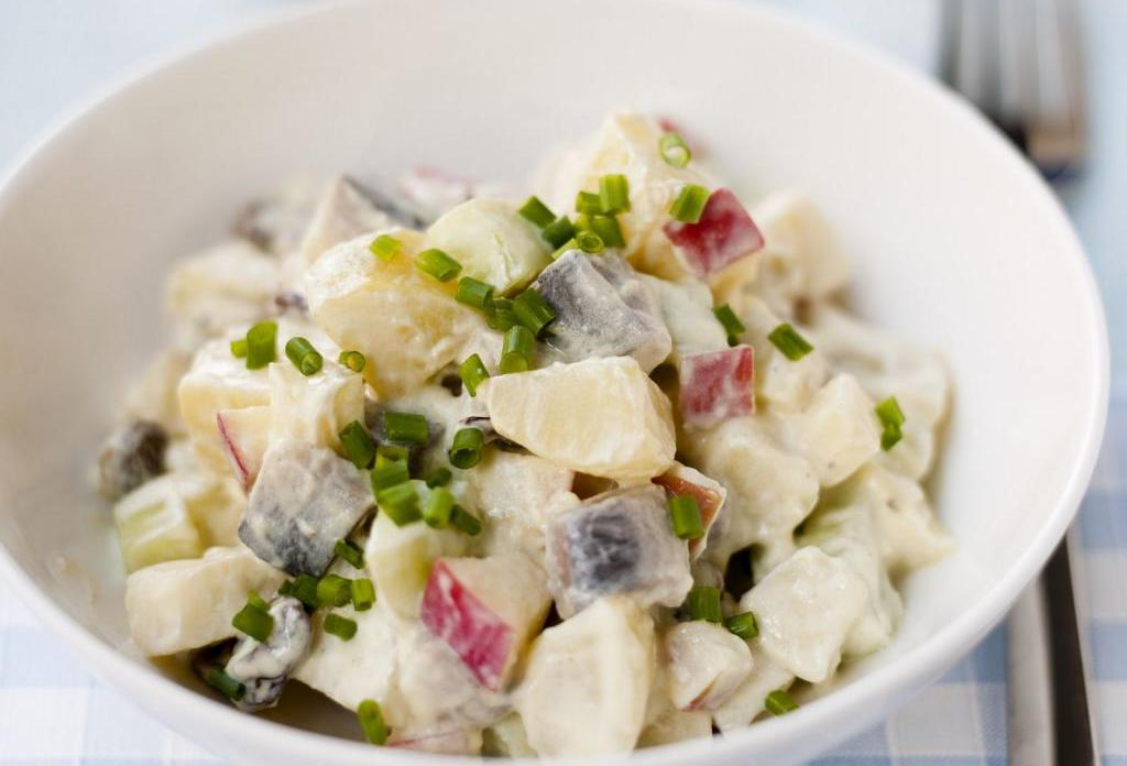 фото европейских салатов