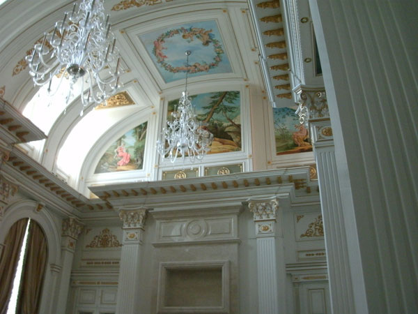 Интерьерная роспись путинского дворца
