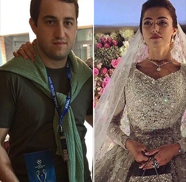 Саид Гуцериев и его жена - Хадижа Ужахова