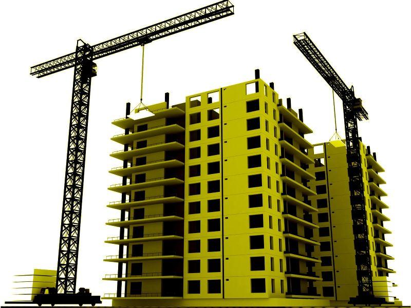 недостроенная многоэтажка