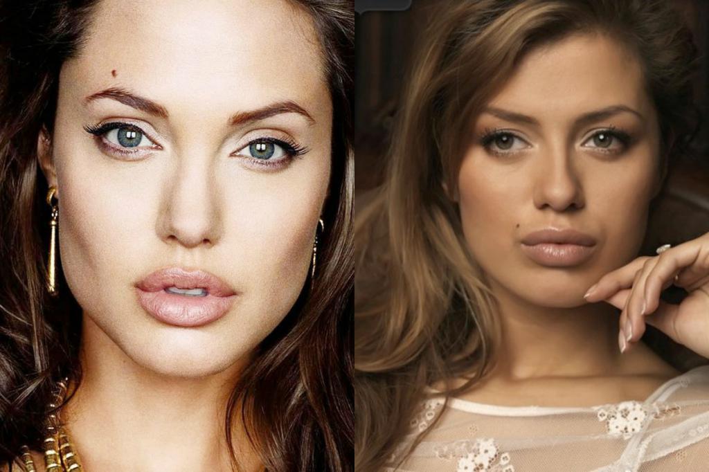 Анджелина Джоли и Виктория Боня