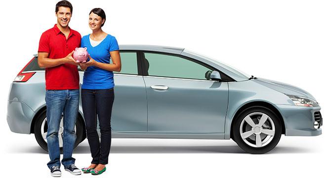 мужчина с женщиной возле машины