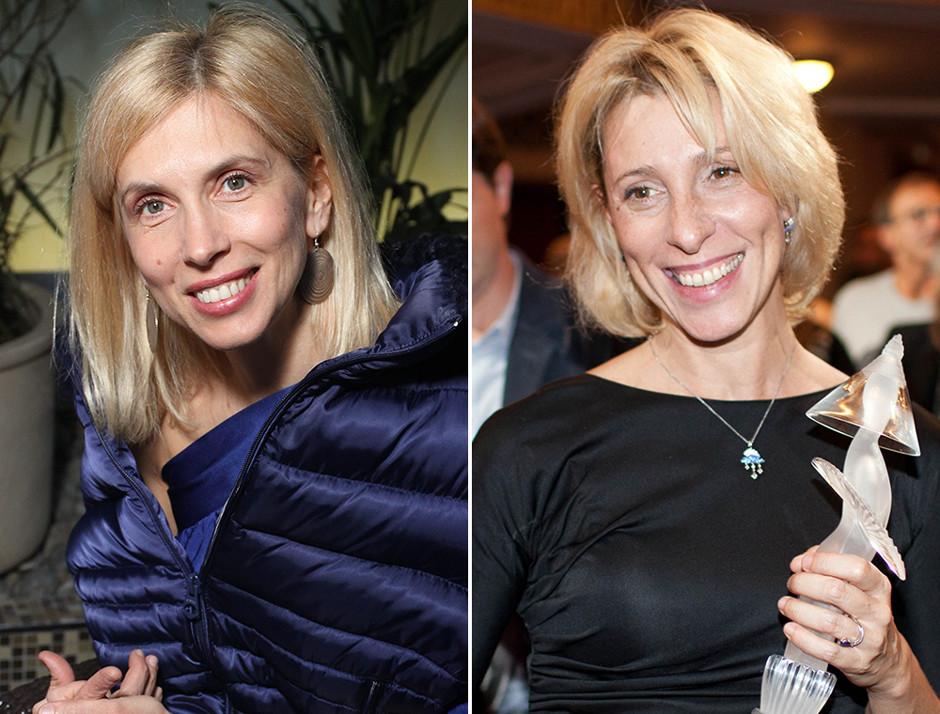 Алена Свиридова и Юлия Рутберг