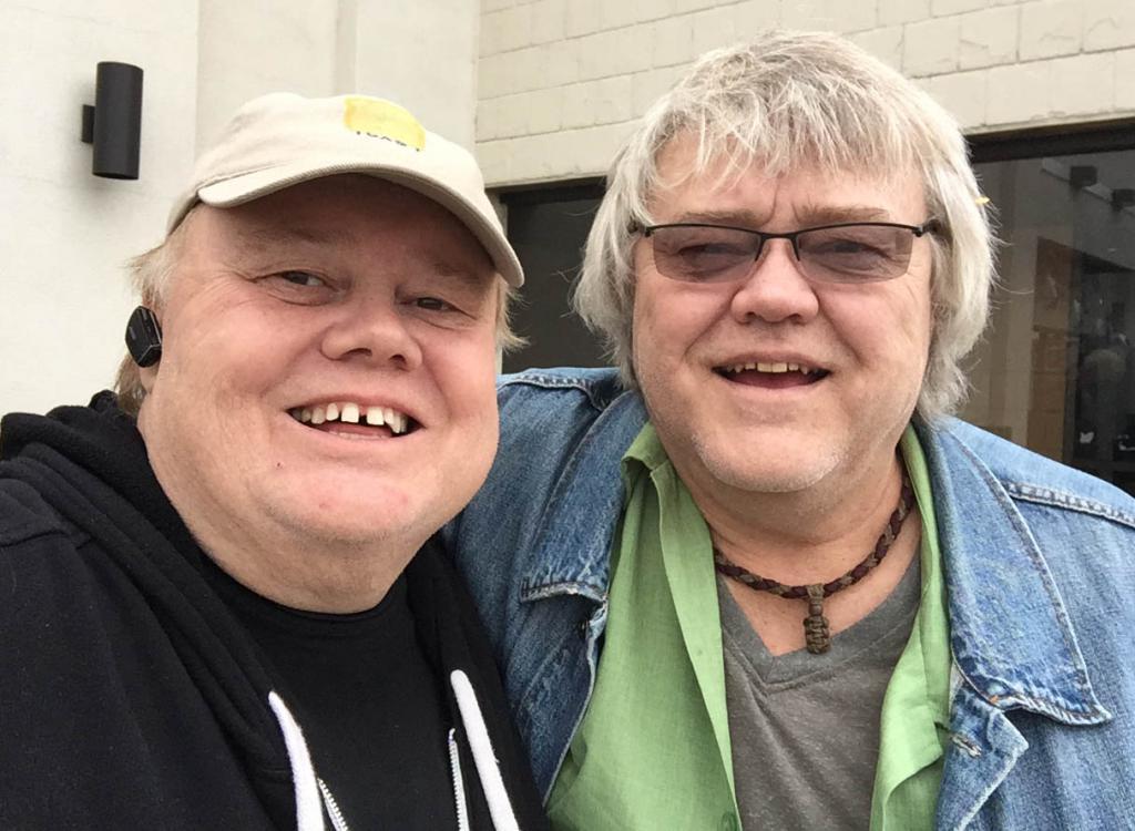 Луи Андерсон со своим братом