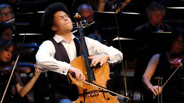 Музыкант на концерте