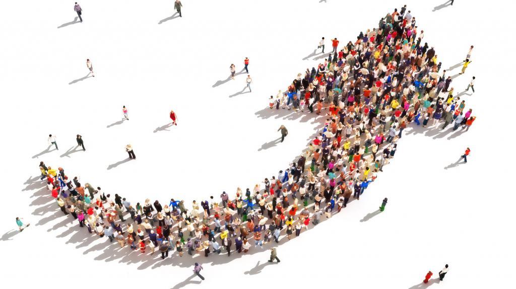 люди, собранные вместе