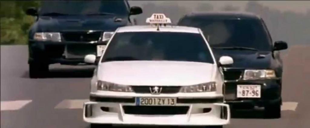 """Автомобили из """"Такси 2"""""""