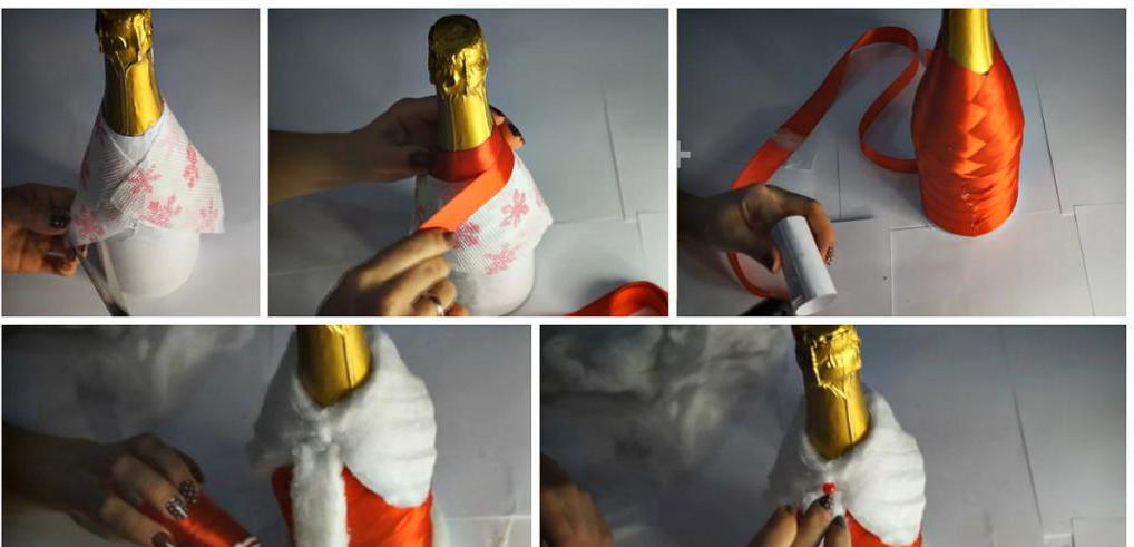 дед мороз из пластиковой бутылки своими руками