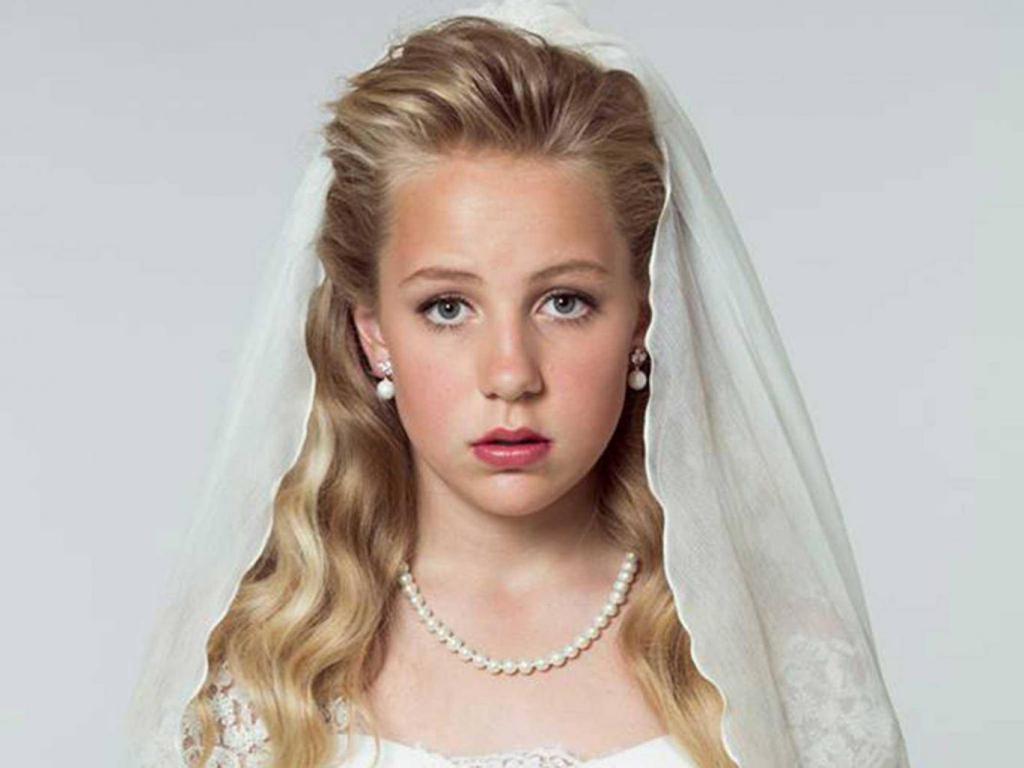 маленькая девочка-невеста