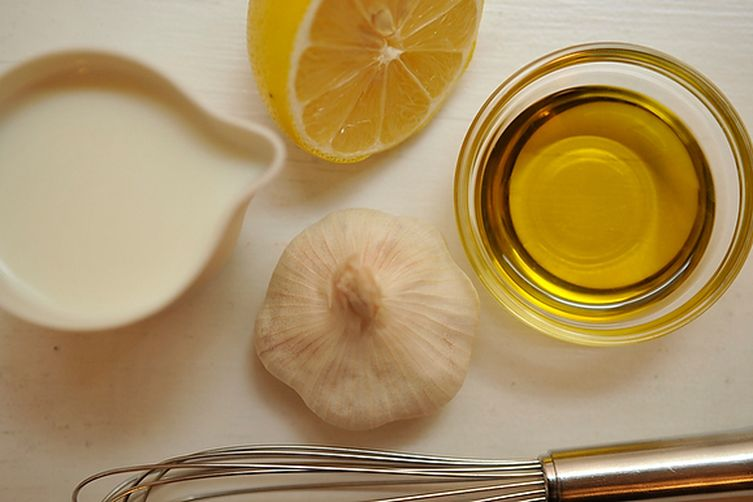 Майонез из молока и растительного масла