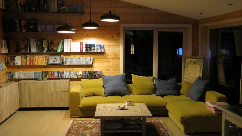 освещение в доме из бруса