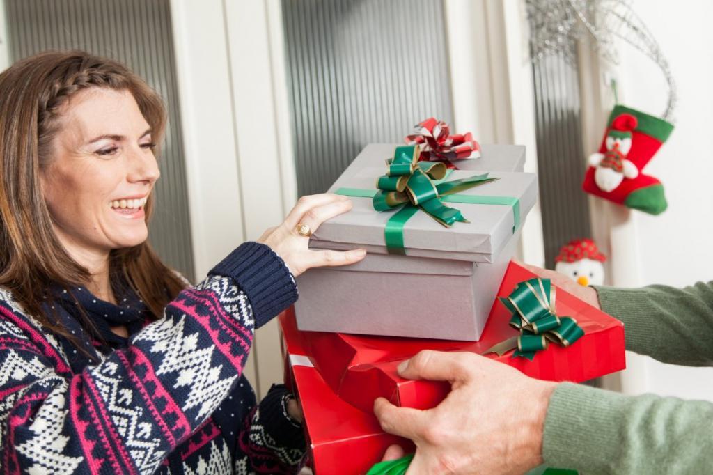 подарок теще на Новый год и Рождество