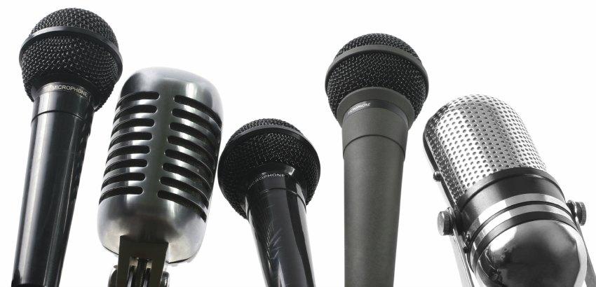 разновидности микрофонов